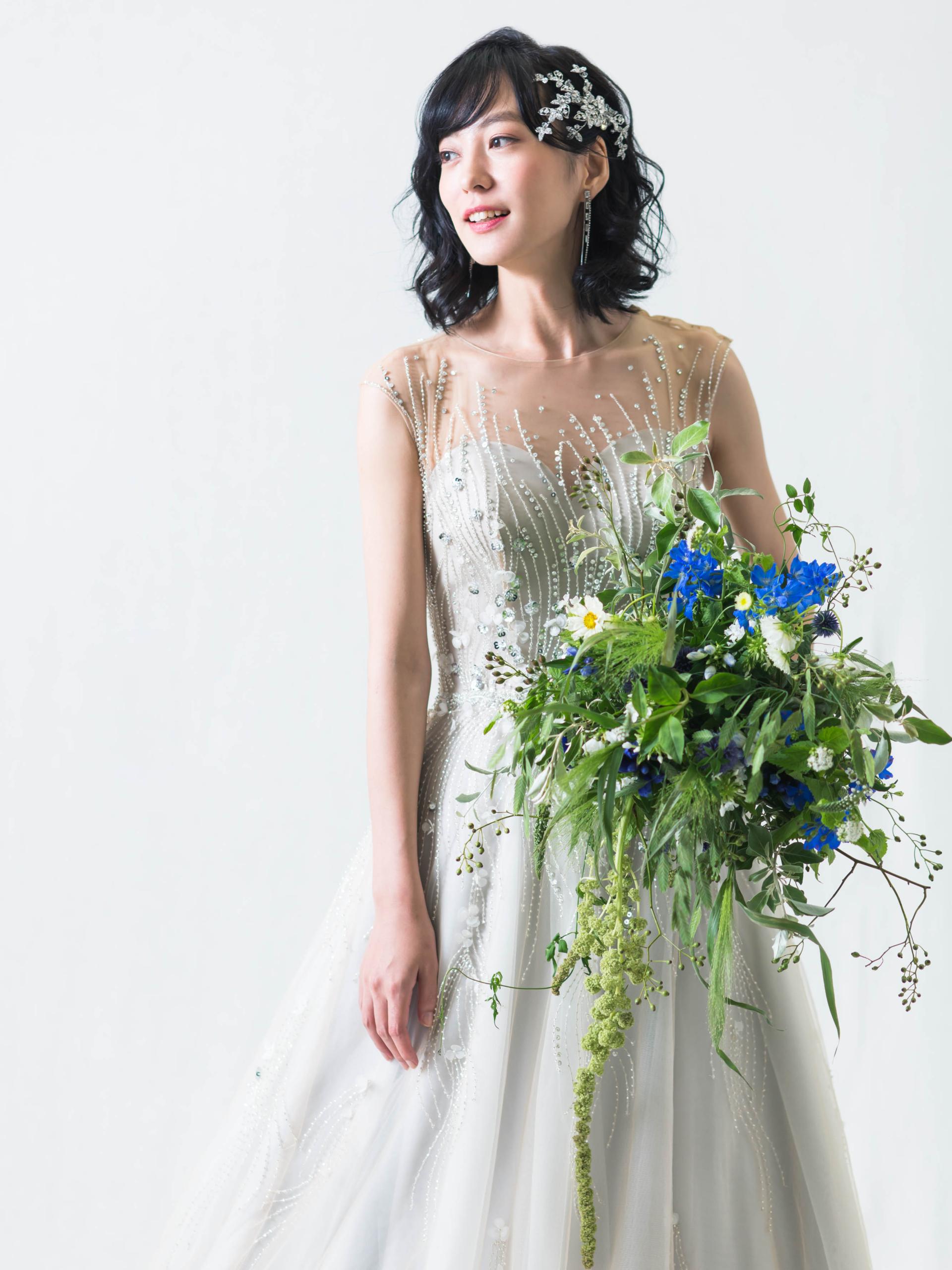 Summer bridal bouquet 夏のウェディングブーケ
