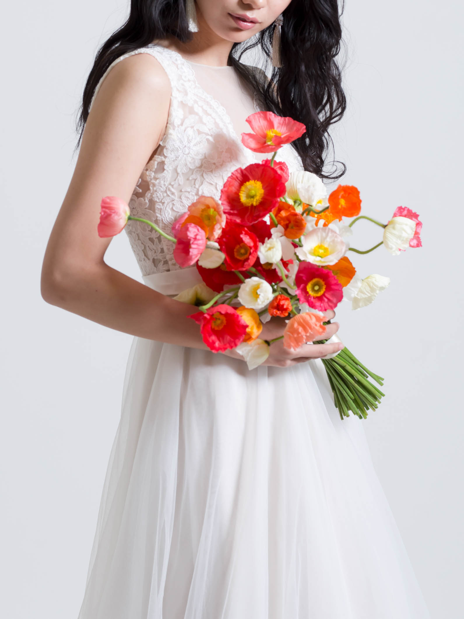 Bridal bouquet ポピーのウェディングブーケ