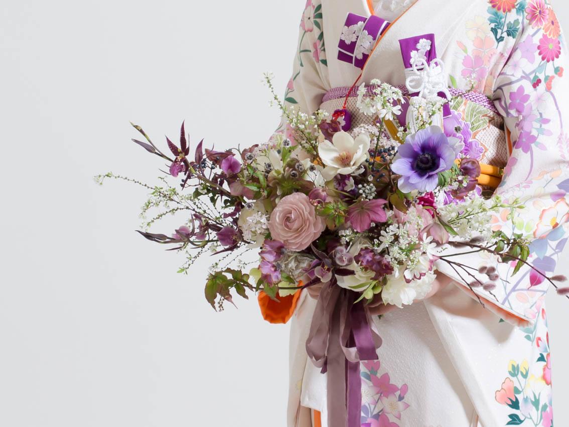 Japanese bridal bouquet 和婚ウェディングブーケ